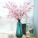 ieftine Cabluri & Adaptoare-Flori artificiale 2 ramură Clasic Single stil minimalist Modern Sakura Florile veșnice Față de masă flori