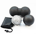 "cheap Fitness Accessories-Peanut Mobility Ball & Lacrosse Ball Set With 3 pcs 3"" (7.5 cm) / 3 1/8"" (8 cm) Diameter EPP Eases pain, Massage For Yoga / Exercise & Fitness / Relaxing"