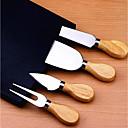 رخيصةأون شواحن السيارة-ستانلس ستيل قواطع ملعقة الصيدلي أدوات أدوات أدوات المطبخ لالجبن 4PCS