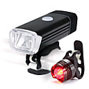 cheap Bike Lights-LED Bike Light Rechargeable Bike Light Set Front Bike Light Rear Bike Tail Light Mountain Bike MTB Cycling Waterproof Portable Lightweight Li-ion 500 lm White Cycling / Bike