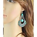 preiswerte Ohrringe-Damen Lang Tropfen-Ohrringe - Birne Grundlegend, Modisch Rot / Blau / Rosa Für Alltag / Verabredung