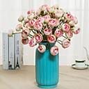 ieftine Accesorii Animale Mici-Flori artificiale 2 ramură Clasic Single Rustic stil minimalist Crizantemă Florile veșnice Față de masă flori