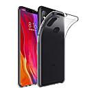 저렴한 Xiaomi 케이스 / 커버-케이스 제품 Xiaomi Mi 8 / Mi 8 SE 투명 뒷면 커버 솔리드 소프트 TPU 용 샤오미 미 믹스 2 / Xiaomi Mi Mix 2S / 샤오미 미 믹스 / Xiaomi Mi 6
