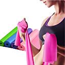 hesapli Küpeler-Egzersiz Direnç Bantları İle 1 pcs Emülsiyon Esnek Kuvvet Antrenmanı, Fizik Tedavi İçin Yoga / Pilates / Fitness Ev / Ofis