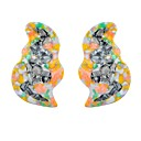 cheap Car Mounts & Holders-Women's Clip on Earring Earrings Ladies Classic Jewelry Rainbow For Ceremony 1 Pair