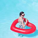 رخيصةأون أقراط-Heart Shape فواشات للمسبح PVC مضاعف قابل للاشتعال سباحة الرياضات المائية إلى بالغين 110*90 cm
