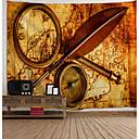 halpa Seinä Art-Uutuudet / Loma Wall Decor Polyesteri Klassinen / Vintage Wall Art, Seinävaatteet Koriste