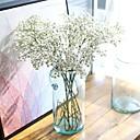 hesapli Köpek Giyim ve Aksesuarları-Yapay Çiçekler 5 şube minimalist tarzı / Modern Çöven Otu / Sonsuz Çiçekler Masaüstü Çiçeği