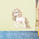 رخيصةأون وشم مؤقت-لواصق حائط مزخرفة - ملصقات الحائط الحيوان حيوانات غرفة الجلوس / غرفة النوم / دورة المياه / قابل اعادة الوضع