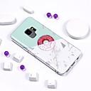رخيصةأون حافظات / جرابات هواتف جالكسي S-غطاء من أجل Samsung Galaxy S9 / S9 Plus / S8 Plus تصفيح / IMD / نموذج غطاء خلفي حجر كريم ناعم TPU