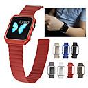 voordelige PS4-accessoires-Horlogeband voor Apple Watch Series 4/3/2/1 Apple Sportband Echt leer Polsband