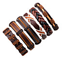 cheap Makeup & Nail Care-Men's Leather Bracelet - Leather Fashion Bracelet Brown For Stage / Street