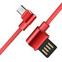 hesapli Telefon Kabloları ve Adaptörleri-C Tipi Yüksek Hız / Hızlı Ücret Kablo Samsung / Huawei / Xiaomi için 120 cm Uyumluluk TPE