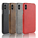 cheap iPhone Cases-Case For Apple iPhone XR / iPhone XS Max Frosted Back Cover Solid Colored Hard PU Leather for iPhone XS / iPhone XR / iPhone XS Max