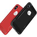 お買い得  Galaxy J シリーズ ケース/カバー-ケース 用途 Apple iPhone X / iPhone 8 耐衝撃 / つや消し バックカバー ソリッド ソフト TPU のために iPhone X / iPhone 8 Plus / iPhone 8