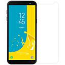 abordables Coques d'iPhone-Protecteur d'écran pour Samsung Galaxy J6 Verre Trempé / PET 1 pièce Protecteur d'objectif avant et appareil photo Haute Définition (HD) / Dureté 9H / Antidéflagrant