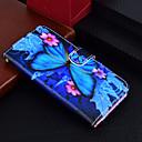 preiswerte Zubehör zum Zeichnen und Schreiben-Hülle Für Samsung Galaxy J7 (2017) / J2 PRO 2018 Geldbeutel / Kreditkartenfächer / mit Halterung Ganzkörper-Gehäuse Schmetterling Hart PU-Leder für J7 (2017) / J5 (2017) / J3 (2017)