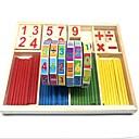 저렴한 귀걸이-기하학적 패턴 숫자 목재 플라스틱 복합 재료 / 나무 / 대나무 조각 아동용 / 초등부 선물