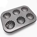 hesapli Fırın Araçları ve Gereçleri-Bakeware araçları Metal Havalı / Çok Fonksiyonlu / Kendin-Yap Ekmek / Kek / Cupcake Dikdörtgen Pasta Kalıpları 1pc