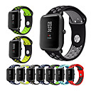 cheap Smart Plug-Watch Band for Huami Amazfit Bip Younth Watch Xiaomi Sport Band Silicone Wrist Strap