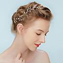 Недорогие Колье и ожерелья-Жен. Простой / Элегантный стиль Цепочка на голову - Перекрещивание Цветочный принт