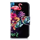 abordables Pochettes / Coques d'iPad-Coque Pour Samsung Galaxy J6 / J4 Portefeuille / Porte Carte / Avec Support Coque Intégrale Flamant Dur faux cuir pour J7 (2017) / J6 / J5 (2017)