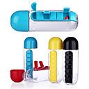 Недорогие Бутылки для воды-Drinkware Бутылки для воды / Организатор путешествий / Бокал Пластик Компактность / Мини / Boyfriend Подарок Учебный / Для занятий спортом