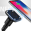 preiswerte LED Autobirnen-neun fünf nc1 2 in 1 hoher Effizienz magnetischer Auto-drahtloses Ladegerät für Apple iphone x iphone 8plus samsung s8