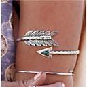 hesapli Yüzükler-Retro / Şık Kol Manşetleri Arrow moda, Hiphop Kadın's Gümüş Vücut Mücevheri Uyumluluk Günlük / Kulüp