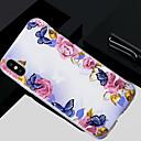 ieftine Imbracaminte & Accesorii Căței-Maska Pentru Apple iPhone X / iPhone 8 Plus / iPhone 8 Translucid / Model Capac Spate Floare Moale TPU