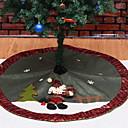 cheap Home Decoration-Christmas Ornaments Holiday / Cartoon Cloth Round Novelty Christmas Decoration
