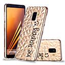 رخيصةأون ساعات النساء-غطاء من أجل Samsung Galaxy A6 (2018) / A6+ (2018) / A8 2018 نموذج غطاء خلفي جملة / كلمة ناعم TPU