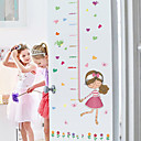 お買い得  HDMI ケーブル-身長ステッカー - 人々の壁のステッカー 風景 リビングルーム / ベッドルーム / 浴室