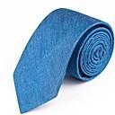 رخيصةأون جواكيت رجالي-ربطة العنق لون سادة رجالي أساسي