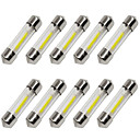 abordables Intermitentes para Coche-10pcs 36mm Coche Bombillas 1 W COB 80 lm 1 LED Luz de Intermitente / Luces interiores Para Universal