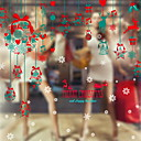 cheap Home Decoration-Christmas Ornaments Holiday PVC Square Novelty Christmas Decoration