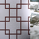 ieftine Binocluri-Fereastră de film și autocolante Decor mată / Contemporan Geometric PVC Autocolant Geam / Mat