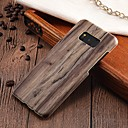cheap iPad  Cases / Covers-Case For Samsung Galaxy S8 Plus / S8 Ultra-thin Back Cover Wood Grain Hard PC for S8 Plus / S8 / S7 edge