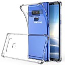 hesapli Galaxy Note Serisi Kılıfları / Kapakları-Pouzdro Uyumluluk Samsung Galaxy Note 9 / Note 8 Şeffaf Arka Kapak Solid Yumuşak TPU için Note 9 / Note 8
