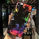 ieftine Carcase iPhone-Maska Pentru Apple iPhone X / iPhone 8 Plus / iPhone 8 Model Capac Spate Decor Moale TPU
