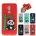 cheap Dog Clothing & Accessories-Case For LG G7 Pattern Back Cover 3D Cartoon / Panda Soft TPU for LG G7