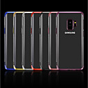 cheap USB Gadgets-Case For Samsung Galaxy A8 2018 / A6 (2018) Plating / Transparent Back Cover Solid Colored Soft TPU for A5(2018) / A6 (2018) / A6+ (2018)