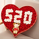 cheap Home Decoration-Holiday Decorations Valentine's Day Decorative Objects Decorative / Cool Red 1pc