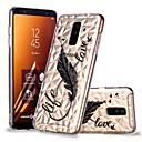 رخيصةأون حافظات / جرابات هواتف جالكسي A-غطاء من أجل Samsung Galaxy A6 (2018) / A6+ (2018) / A8 2018 شفاف / نموذج غطاء خلفي الريش ناعم TPU