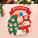 cheap Home Decoration-Christmas Ornaments Holiday Plastic Square Novelty Christmas Decoration