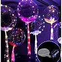 cheap Home Decoration-3M 30LED Balloon with Led Strip Luminous Led Balloons for Wedding Decorations Birthday Party Christmas New Year