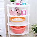cheap Bathroom Gadgets-Bathroom Shelf New Design / Cool Contemporary Plastics 1pc Floor Mounted
