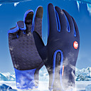 cheap Barware & Openers-Sports Gloves Bike Gloves / Cycling Gloves Touch Gloves Waterproof Windproof Warm Full Finger Gloves Cold Weather Winter Fleece Lycra Spandex Cycling / Bike Unisex