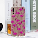 cheap Cases / Covers for Huawei-Case For Huawei P20 Pro / P20 lite Transparent / Pattern Back Cover Flamingo Soft TPU for Huawei P20 / Huawei P20 Pro / Huawei P20 lite