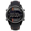 levne Pánské-SMAEL Pánské Sportovní hodinky Digitální hodinky japonština Japonské Quartz Silikon Černá / Tyrkysová 50 m Voděodolné Kalendář Chronograf Digitální Na běžné nošení Módní - Modrá Orange / Black